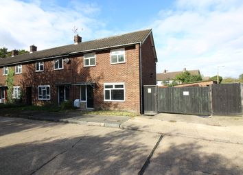 Thumbnail End terrace house for sale in Great Plumtree, Harlow