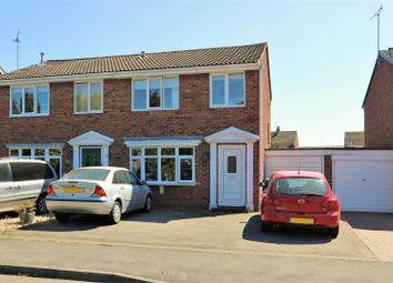 Thumbnail 3 bed semi-detached house for sale in Canterbury Drive, Ashby-De-La-Zouch