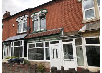 2 bed terraced house for sale in Francis Road, Birmingham B27