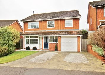 Thumbnail 5 bed detached house for sale in Rowan Close, Wokingham, Berkshire