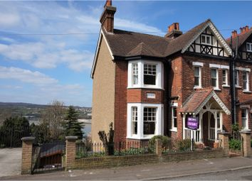Thumbnail 5 bed semi-detached house for sale in Borstal Road, Rochester
