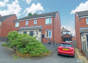 Thumbnail 3 bed semi-detached house for sale in Bluebell Close, Hartshill, Nuneaton