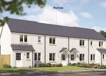"Thumbnail 2 bed end terrace house for sale in ""The Portree"" at Gateside Road, Haddington"