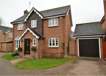 Thumbnail 3 bed detached house for sale in Waltham Close, Shenfield