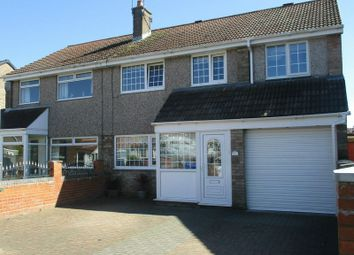 Thumbnail 4 bed semi-detached house for sale in Shearwater Way, South Beach Estate, Blyth