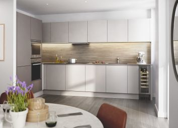 Thumbnail 2 bed flat for sale in Newton Close, London