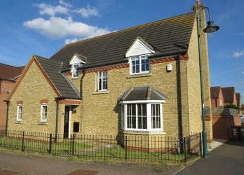 Thumbnail 4 bed detached house for sale in Thorn Road, Hampton Hargate, Peterborough