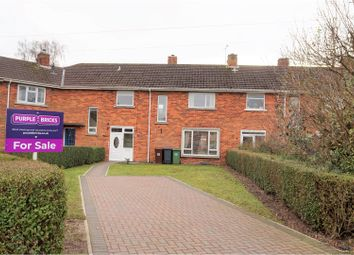 Thumbnail 3 bed terraced house for sale in Thornton Close, Lincoln