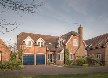 Thumbnail 5 bed detached house for sale in Thorold Gardens, Barkston, Grantham