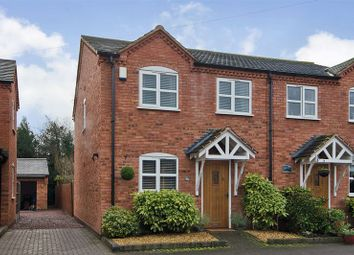 Thumbnail 2 bed semi-detached house for sale in Uttoxeter Road, Hill Ridware, Rugeley