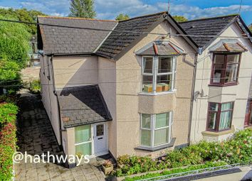 Thumbnail 2 bed semi-detached house for sale in Station Road, Ponthir, Nr Caerleon, Newport
