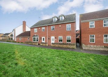Thumbnail 4 bed semi-detached house for sale in Burwell Reach, Orton Longueville, Peterborough