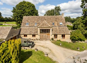 Thumbnail 4 bedroom barn conversion for sale in Church Road, Daglingworth, Cirencester