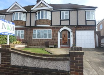 Thumbnail 4 bed semi-detached house to rent in Pine Avenue, Gravesend