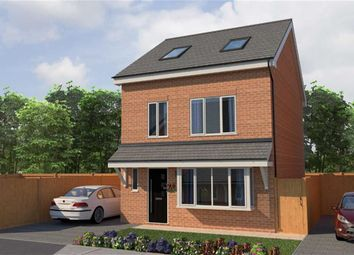 Thumbnail 4 bed detached house for sale in Morris Meadow, Whitefield, Manchester