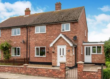 Thumbnail 3 bedroom semi-detached house for sale in Heckfield Green, Hoxne, Eye