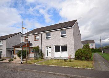 Thumbnail 3 bed semi-detached house for sale in Greenacre Place, Bannockburn, Stirling