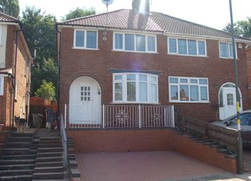 Thumbnail 3 bed semi-detached house for sale in Nigel Avenue, Northfield