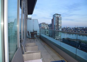 Thumbnail 3 bed duplex to rent in Adriatic Apartments, Western Gateway, London
