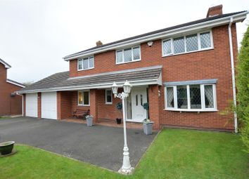 Thumbnail 4 bed detached house for sale in Sharman Way, Gnosall, Stafford