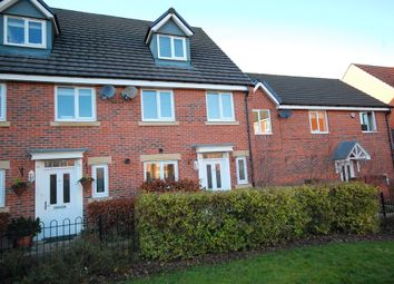 Thumbnail 4 bed terraced house to rent in Harvey Avenue, Newton Hall, Durham