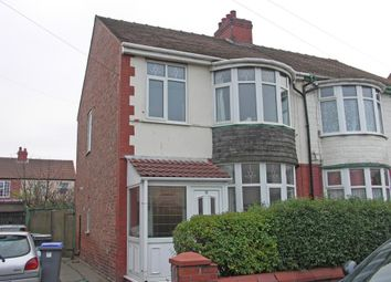 Thumbnail 3 bedroom semi-detached house to rent in Fernhurst Avenue, Blackpool