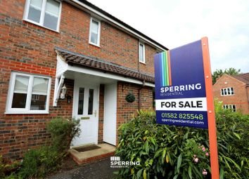 Thumbnail 2 bed terraced house for sale in Orchard Close, Caddington, Luton