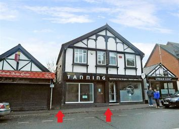 Thumbnail Retail premises for sale in Castle Street, Northwich, Cheshire