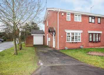 Thumbnail 2 bed semi-detached house for sale in Marlowe Close, Galley Common, Nuneaton, Warwickshire