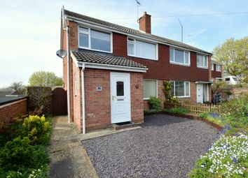 Thumbnail 3 bed semi-detached house for sale in Flemyng Road, Bury St. Edmunds