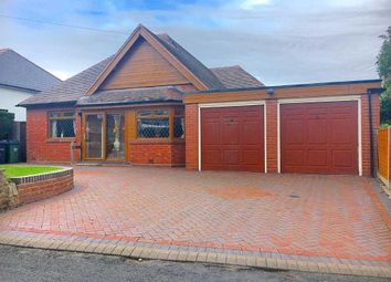 Thumbnail 4 bed bungalow for sale in Charlemont Road, West Bromwich, West Midlands