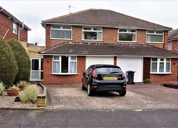 Thumbnail 3 bed semi-detached house for sale in The Crest, Northfield, Birmingham