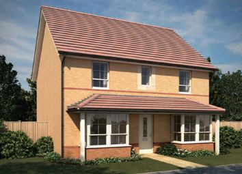 "Thumbnail 4 bed detached house for sale in ""Thame"" at Tregwilym Road, Rogerstone, Newport"