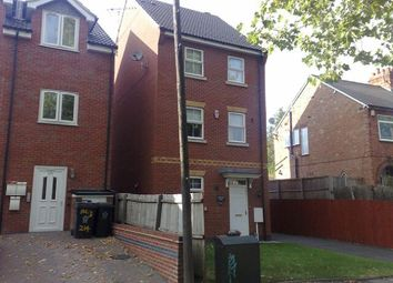 Thumbnail 4 bed detached house to rent in Blackbird Road, Leicester