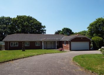 Thumbnail 5 bed detached bungalow to rent in Woodbury, Exeter