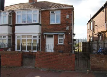 Thumbnail 4 bed terraced house for sale in Oakfield Gardens, Benwell, Newcastle Upon Tyne