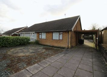 Thumbnail 2 bed semi-detached bungalow for sale in Park Road, Werrington, Staffordshire