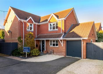Thumbnail 4 bed detached house for sale in Willow Close, Ruskington, Sleaford, Lincolnshire