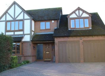 Thumbnail 4 bed property for sale in Thornton Close, Broughton Astley, Leicester