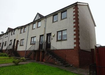 Thumbnail 2 bed end terrace house for sale in Braeside Drive, Dumbarton