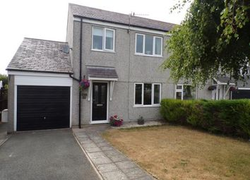 Thumbnail 3 bed semi-detached house for sale in Bro Eglwys, Bethel, Caernarfon