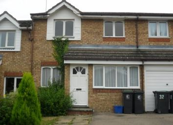 Thumbnail 3 bed terraced house to rent in Howard Close, Waltham Abbey