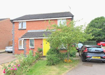 Thumbnail 2 bed semi-detached house for sale in Greenacre Drive, Rushden