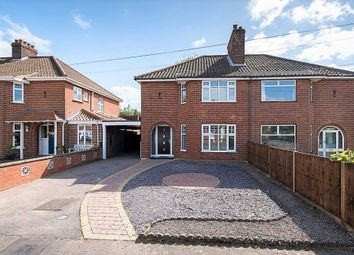 Thumbnail 3 bedroom semi-detached house for sale in Lady Betty Road, Norwich
