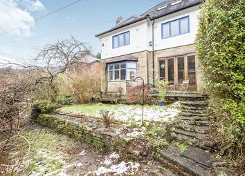 Thumbnail 4 bed semi-detached house for sale in Lee Mill Road, Hebden Bridge