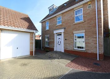 Thumbnail 5 bed detached house for sale in Rushton Drive, Carlton Colville, Lowestoft, Suffolk
