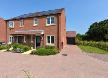 Thumbnail 3 bed semi-detached house for sale in Pinchfield Gardens, Hallow, Worcester