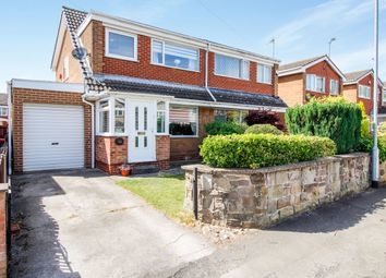 Thumbnail 3 bed semi-detached house for sale in Hill View Road, Kimberworth, Rotherham