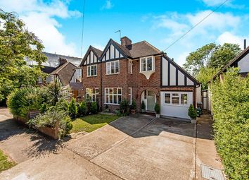 Thumbnail 3 bed semi-detached house for sale in Revell Road, Norbiton, Kingston Upon Thames