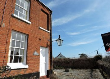 Thumbnail 2 bed end terrace house to rent in Castle Street, Woodbridge